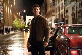 Tom Cruise as Reacher.