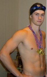 bonus! last time i was clean-shaven; halloween 2008 as michael phelps