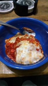 wonton lasagna