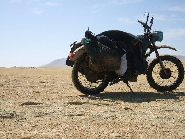 motorbike in peru