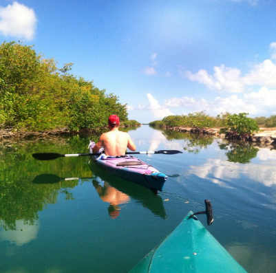 kayaking in the keys