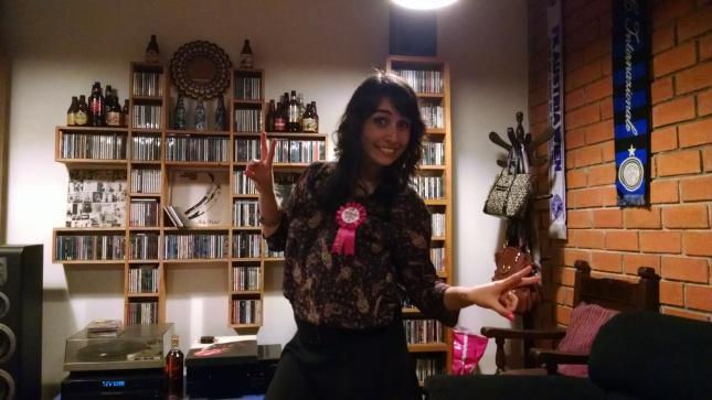 Marita, the birthday girl!