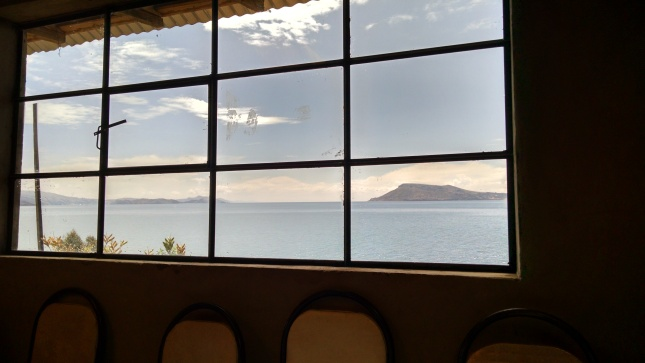 lake titicaca from amantani