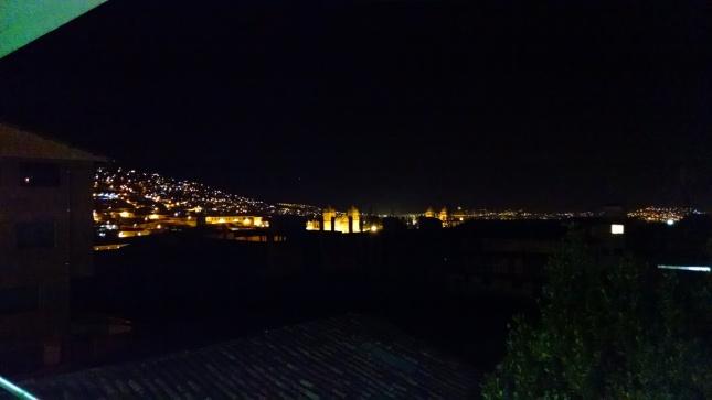 night view cusco peru